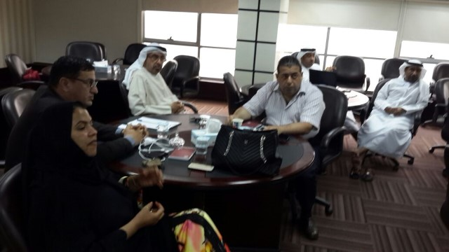 Meeting of self-assessment team